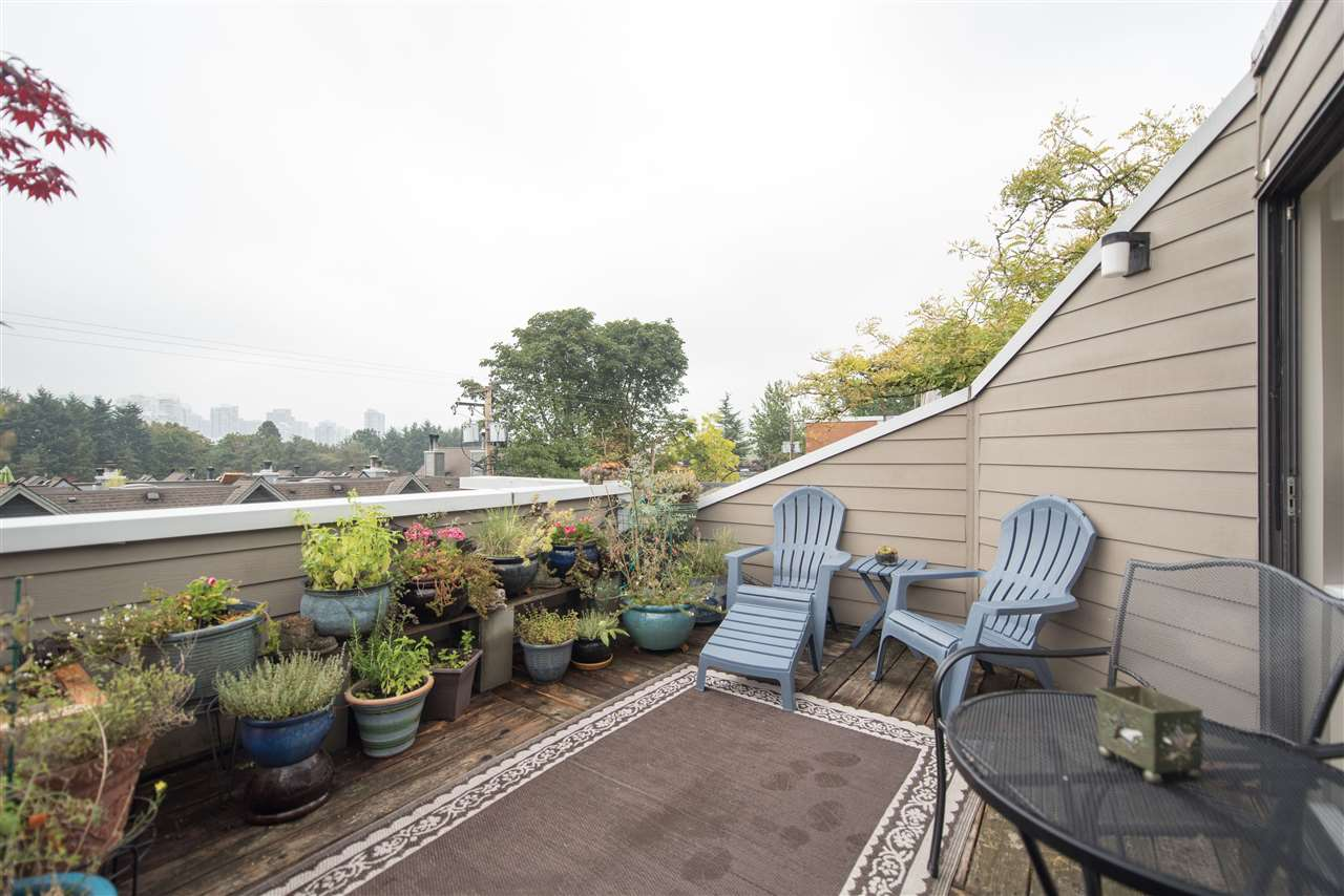 Townhouse at 848 W 7 AVENUE, Vancouver West, British Columbia. Image 14