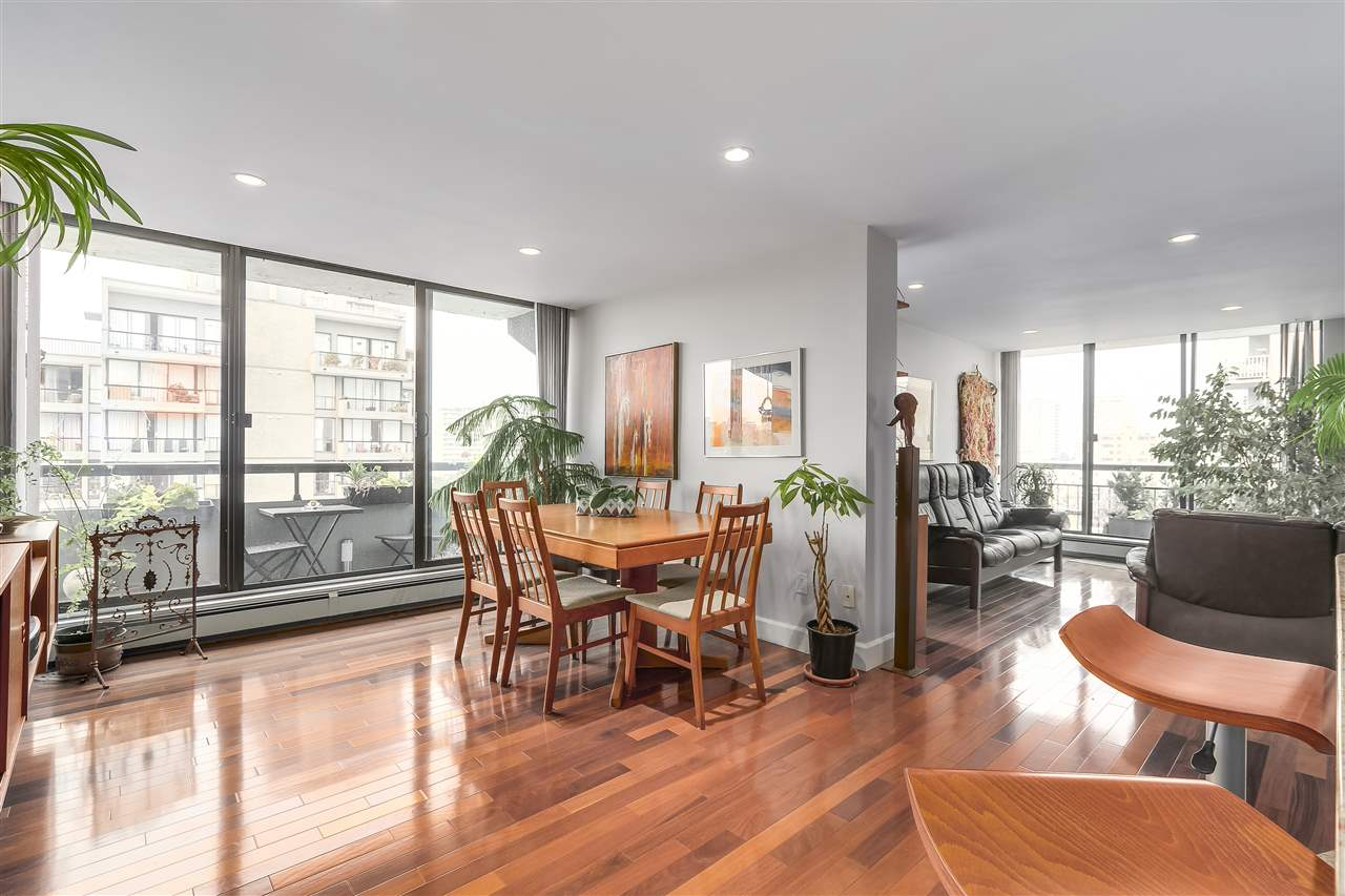 Condo Apartment at 1008 1720 BARCLAY STREET, Unit 1008, Vancouver West, British Columbia. Image 5