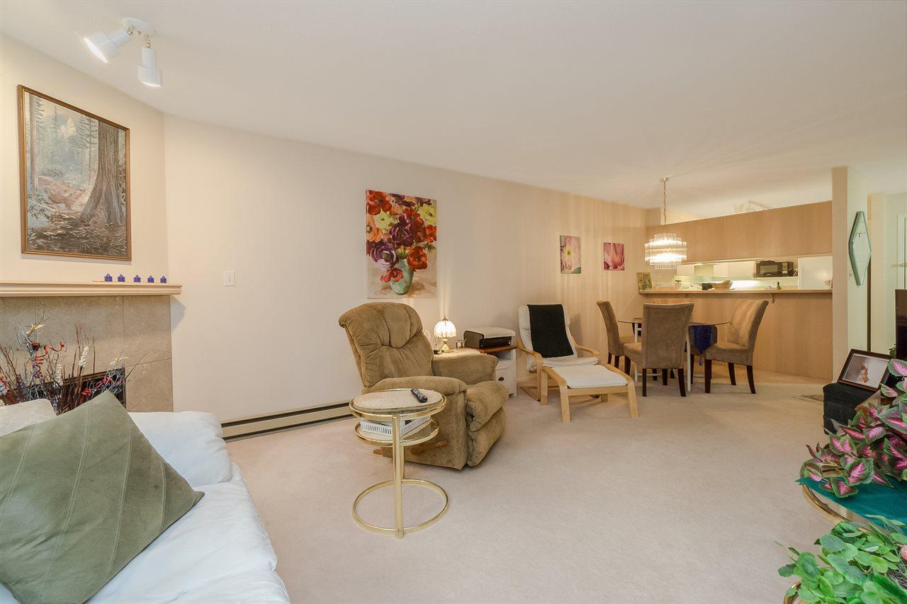 Condo Apartment at 105 7465 SANDBORNE AVENUE, Unit 105, Burnaby South, British Columbia. Image 4