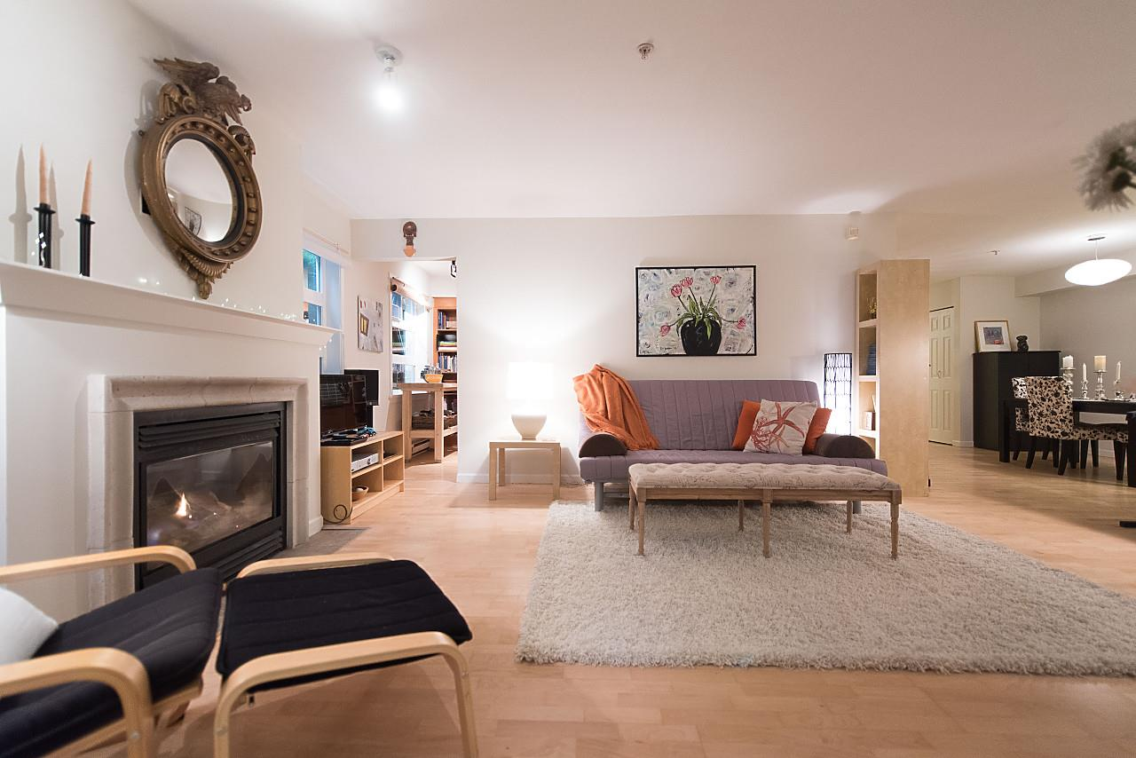 Condo Apartment at 101 2181 W 12TH AVENUE, Unit 101, Vancouver West, British Columbia. Image 1