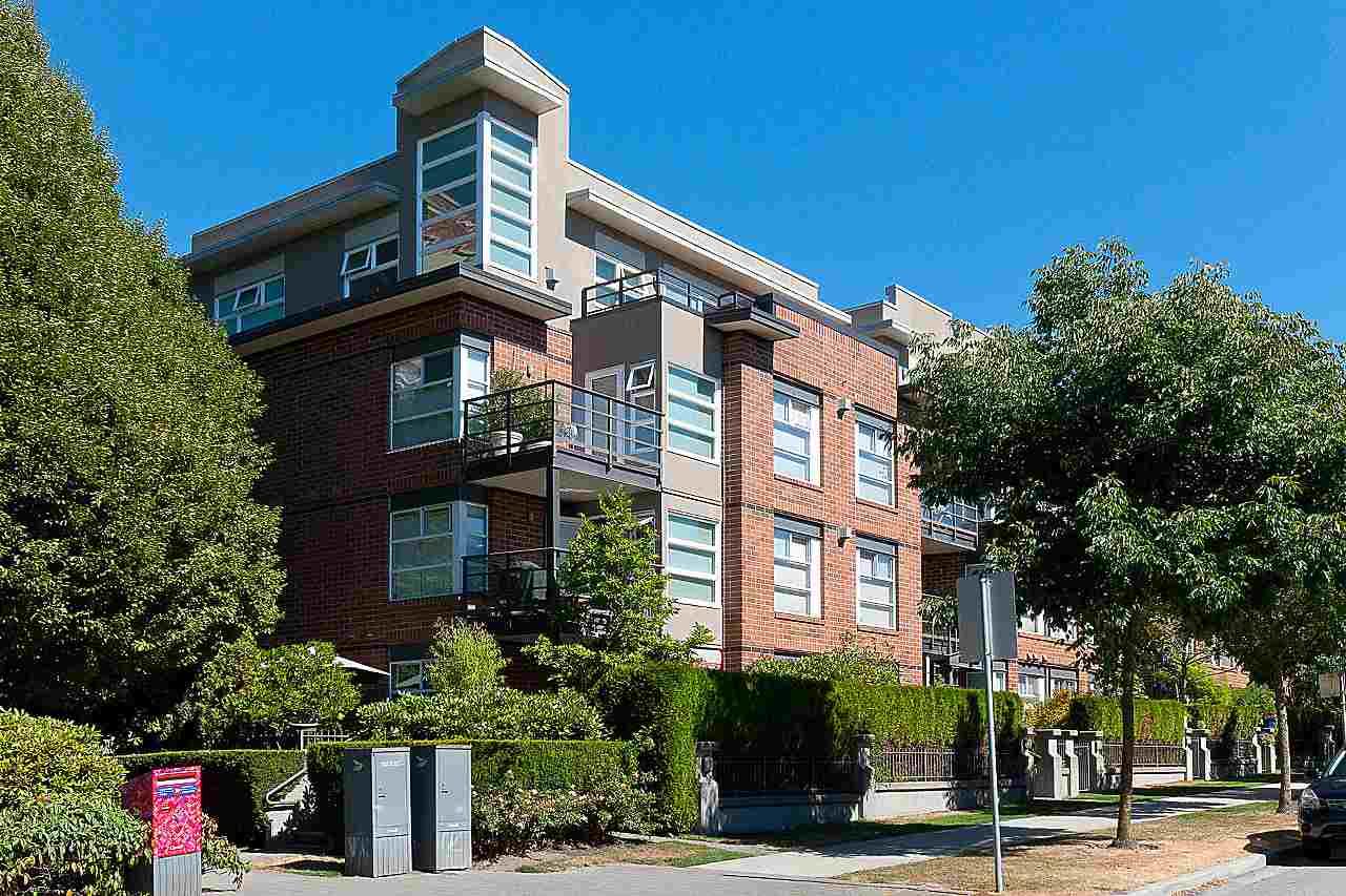 Condo Apartment at 101 2181 W 12TH AVENUE, Unit 101, Vancouver West, British Columbia. Image 18