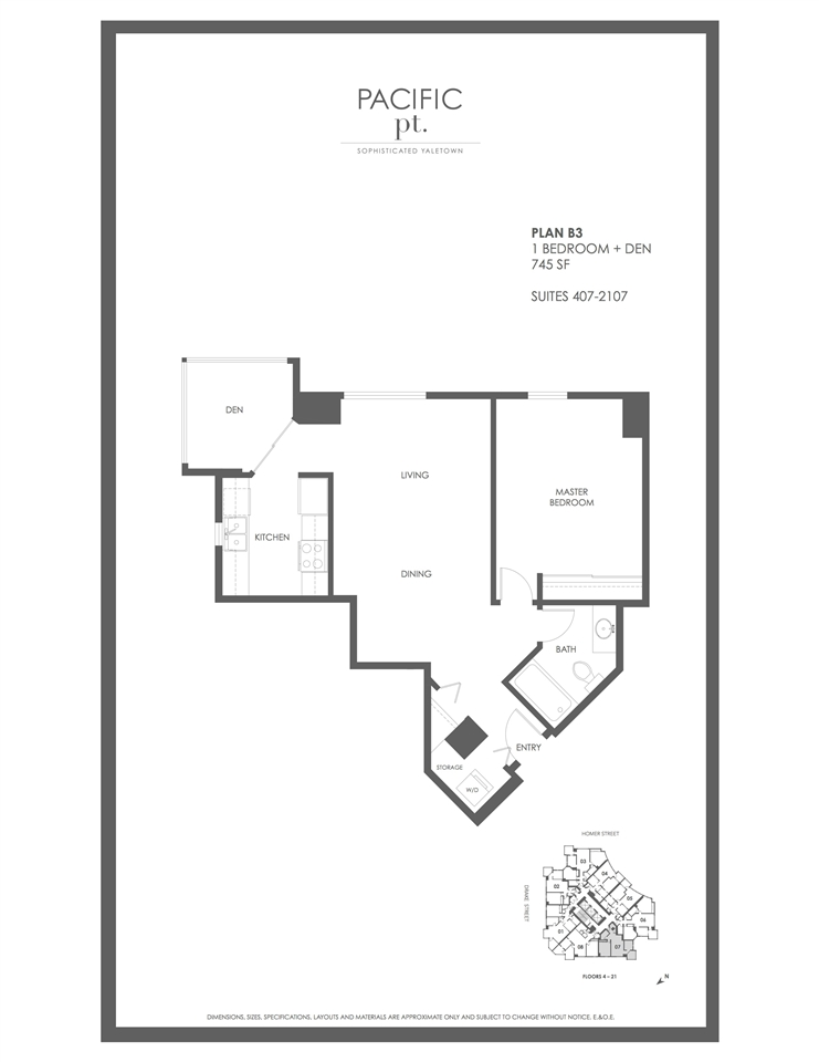 Condo Apartment at 507 1323 HOMER STREET, Unit 507, Vancouver West, British Columbia. Image 20