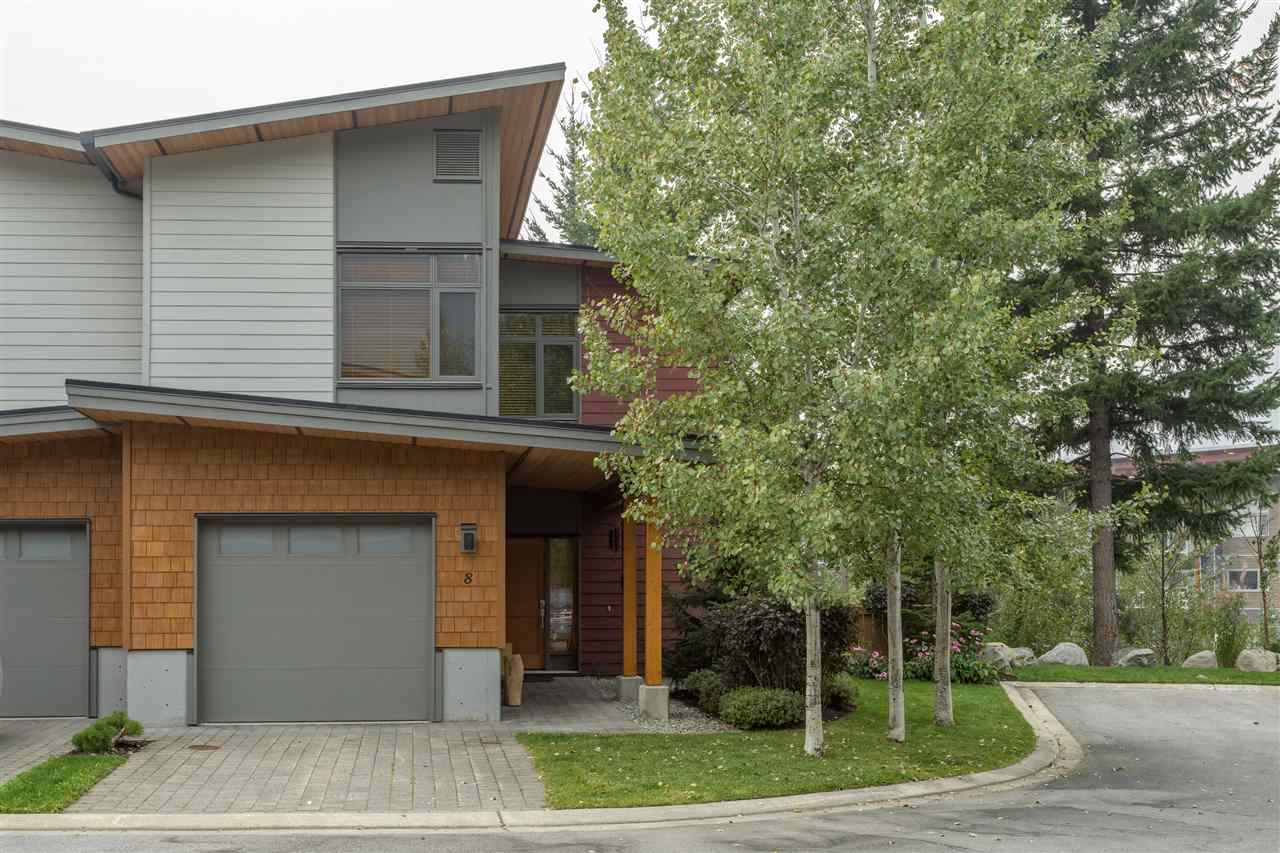 Townhouse at 8 1240 MOUNT FEE ROAD, Unit 8, Whistler, British Columbia. Image 1