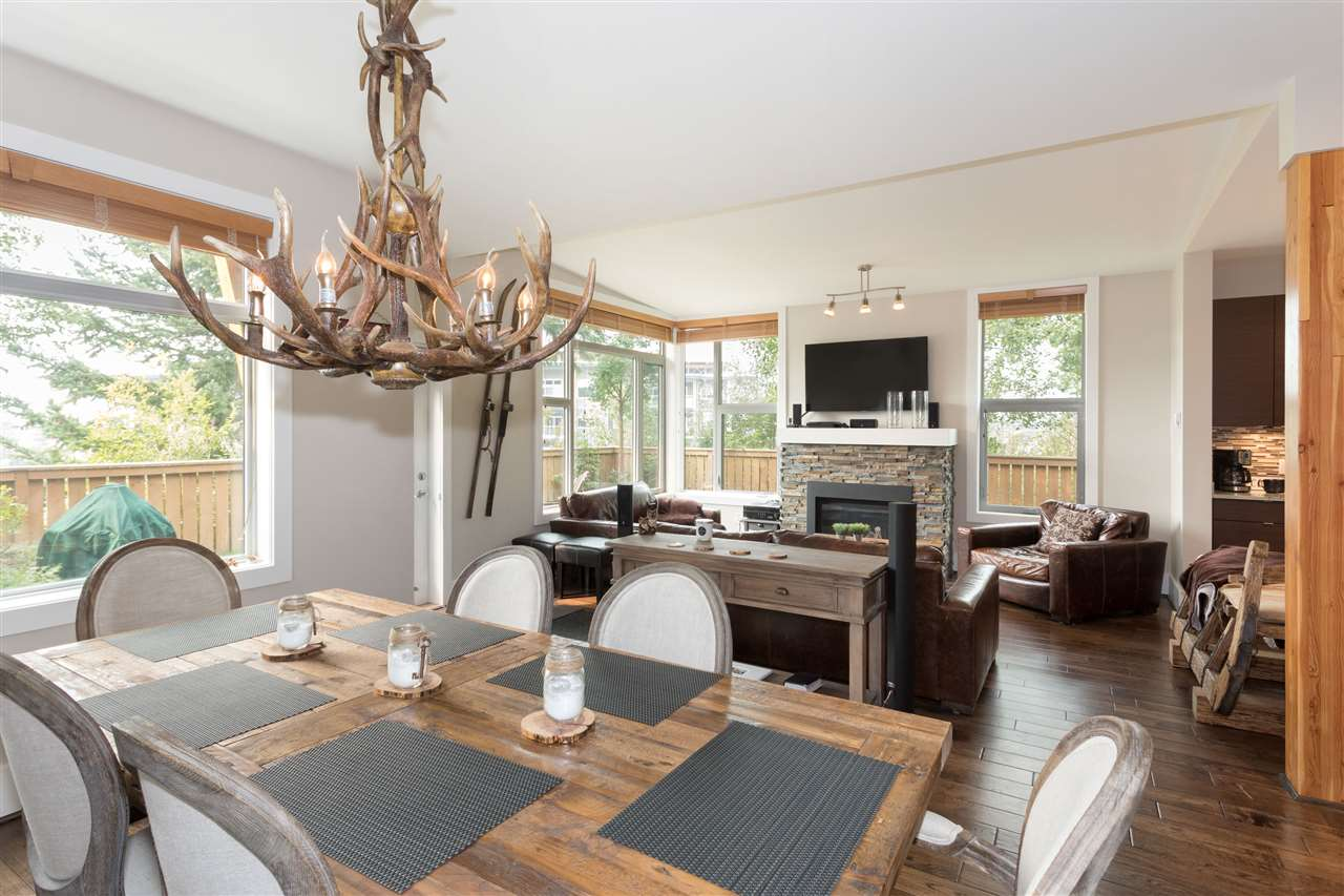 Townhouse at 8 1240 MOUNT FEE ROAD, Unit 8, Whistler, British Columbia. Image 6