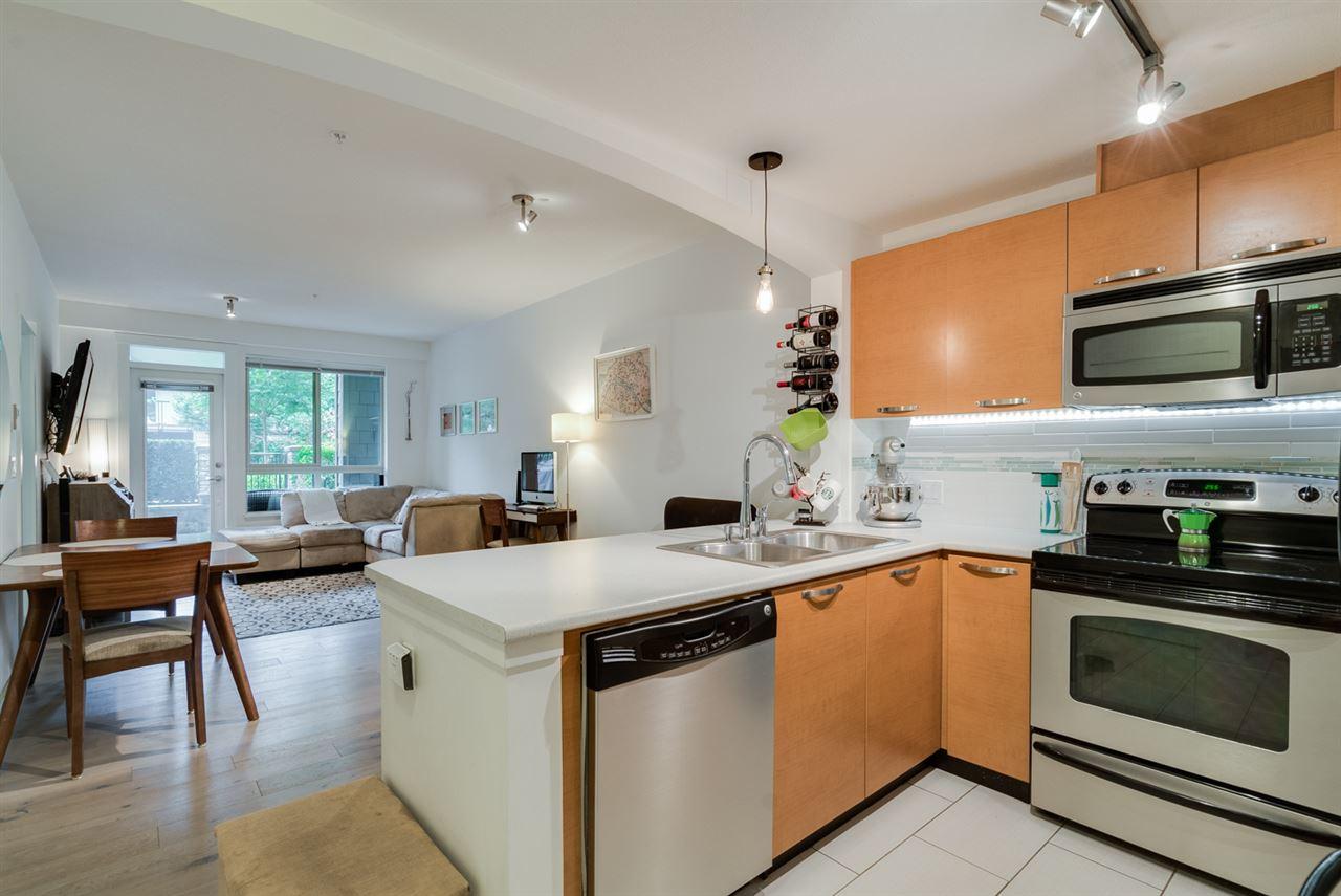 Condo Apartment at 106 7478 BYRNEPARK WALK, Unit 106, Burnaby South, British Columbia. Image 1