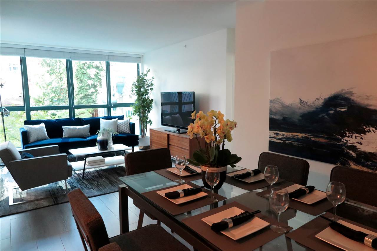 Condo Apartment at 505 1238 MELVILLE STREET, Unit 505, Vancouver West, British Columbia. Image 1