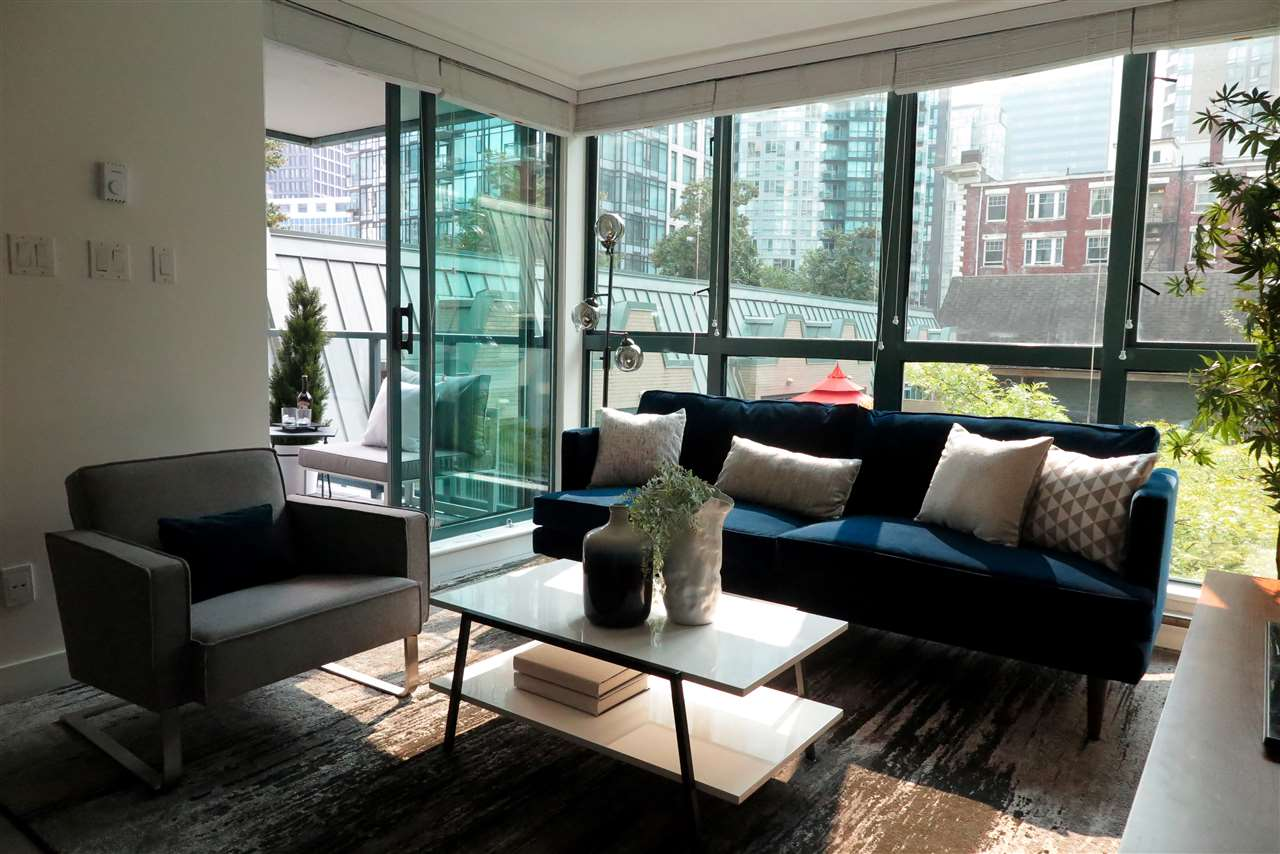 Condo Apartment at 505 1238 MELVILLE STREET, Unit 505, Vancouver West, British Columbia. Image 5