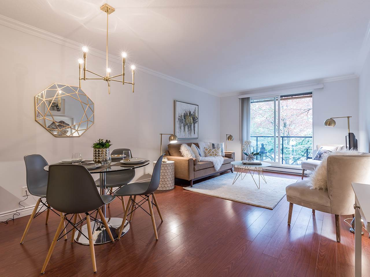 Condo Apartment at 219 1550 BARCLAY STREET, Unit 219, Vancouver West, British Columbia. Image 1