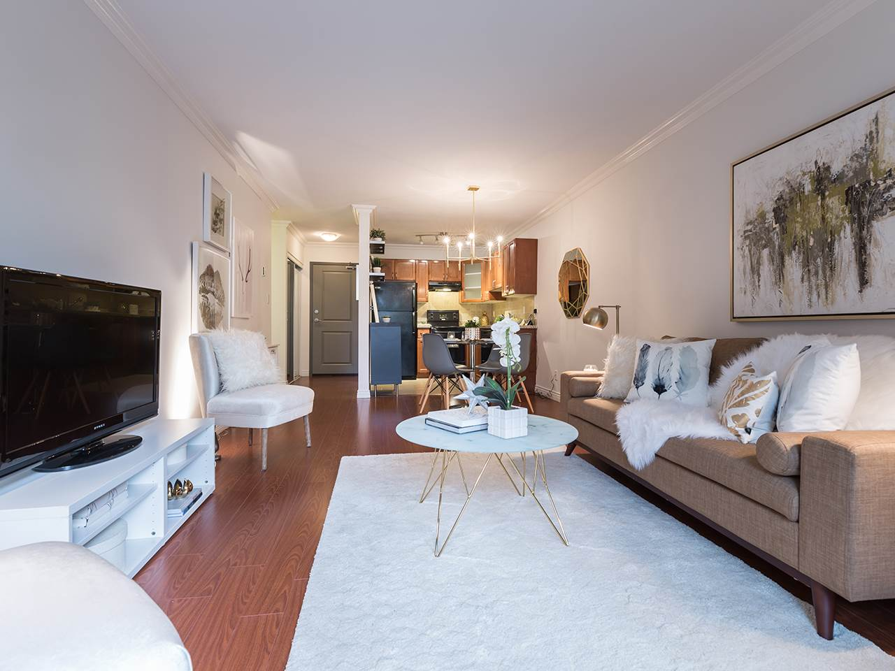 Condo Apartment at 219 1550 BARCLAY STREET, Unit 219, Vancouver West, British Columbia. Image 4