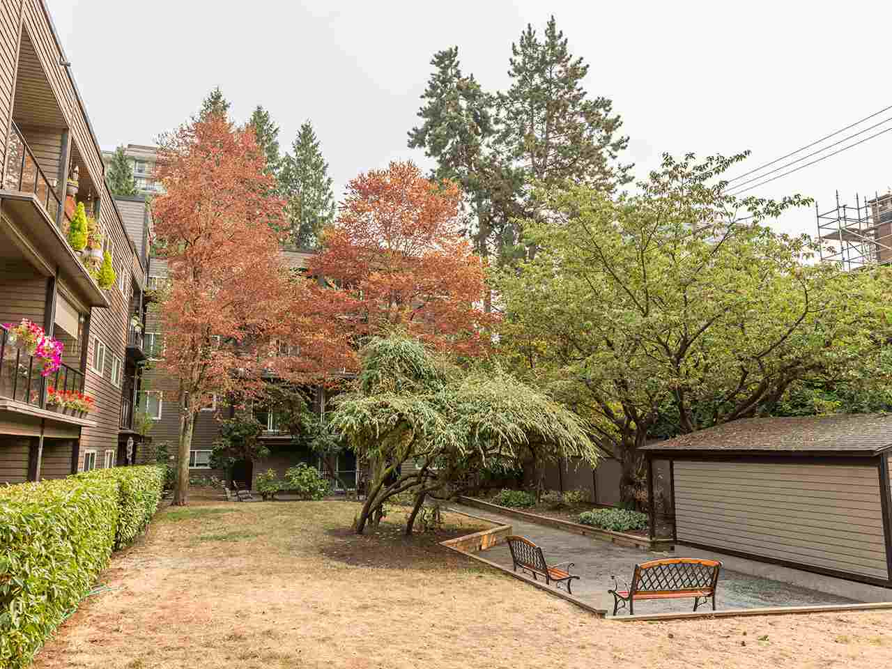 Condo Apartment at 219 1550 BARCLAY STREET, Unit 219, Vancouver West, British Columbia. Image 12