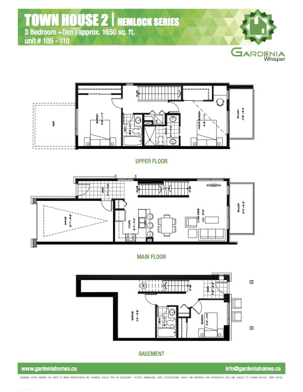 Townhouse at 109 3525 CHANDLER STREET, Unit 109, Coquitlam, British Columbia. Image 3