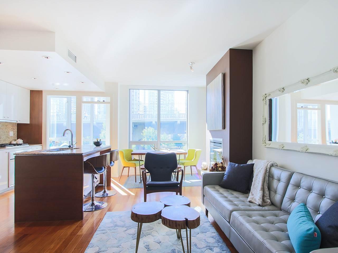 Condo Apartment at 501 1005 BEACH AVENUE, Unit 501, Vancouver West, British Columbia. Image 4
