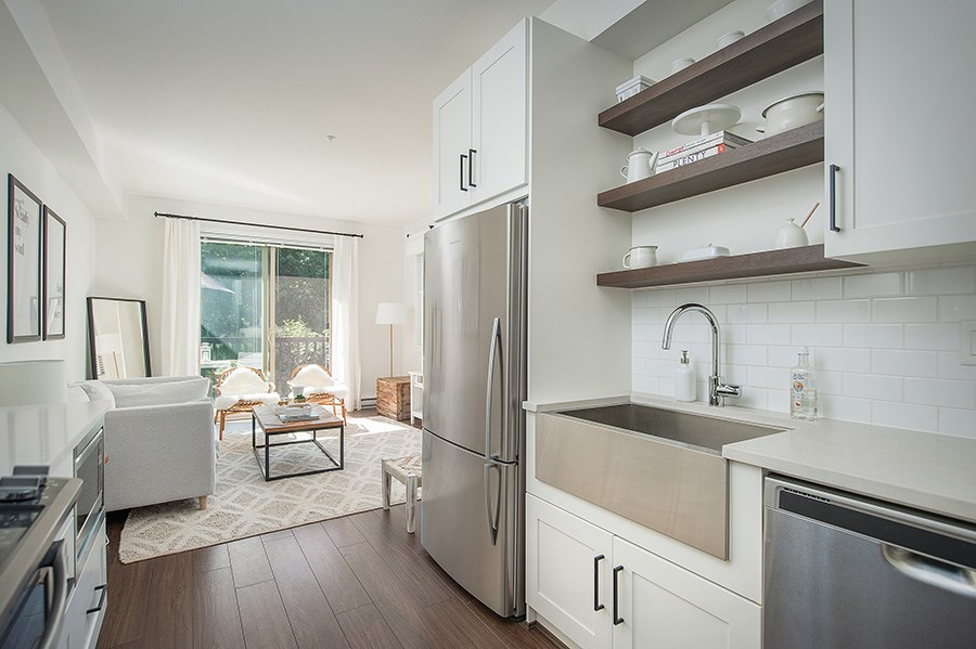 Townhouse at 45 433 SEYMOUR RIVER PLACE, Unit 45, North Vancouver, British Columbia. Image 2