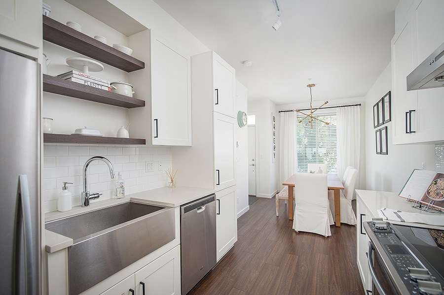 Townhouse at 45 433 SEYMOUR RIVER PLACE, Unit 45, North Vancouver, British Columbia. Image 3