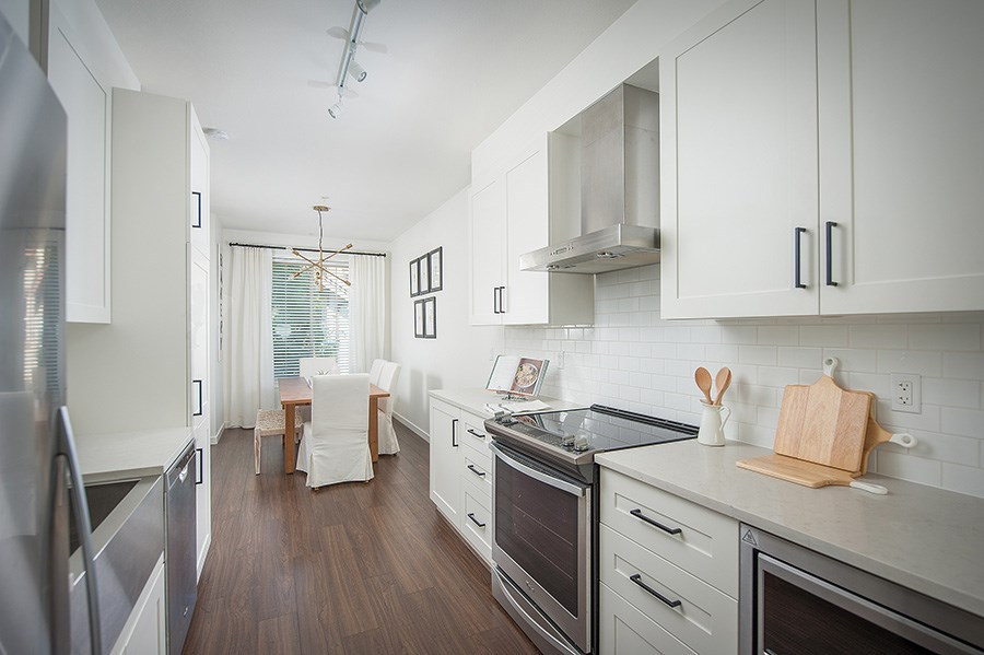 Townhouse at 45 433 SEYMOUR RIVER PLACE, Unit 45, North Vancouver, British Columbia. Image 4