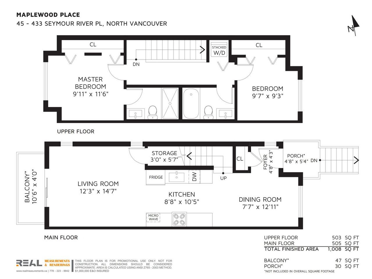 Townhouse at 45 433 SEYMOUR RIVER PLACE, Unit 45, North Vancouver, British Columbia. Image 19