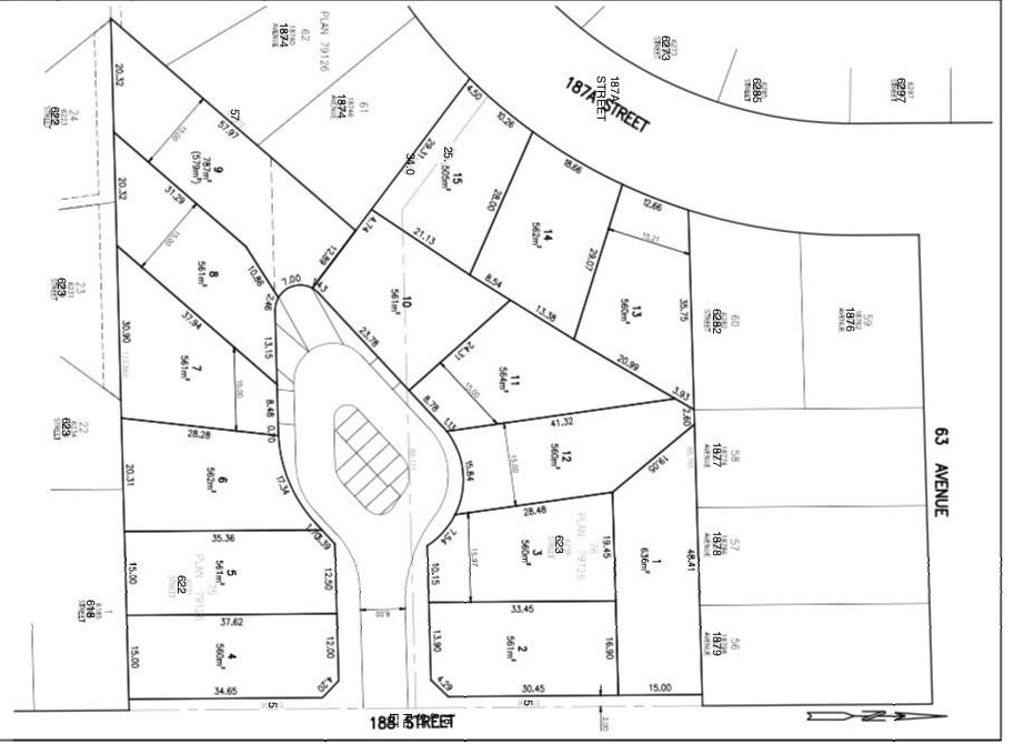 Vacant Land at LT.3 6239 188 STREET, Unit LT.3, Cloverdale, British Columbia. Image 1
