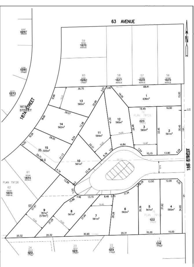 Vacant Land at LT.3 6239 188 STREET, Unit LT.3, Cloverdale, British Columbia. Image 2