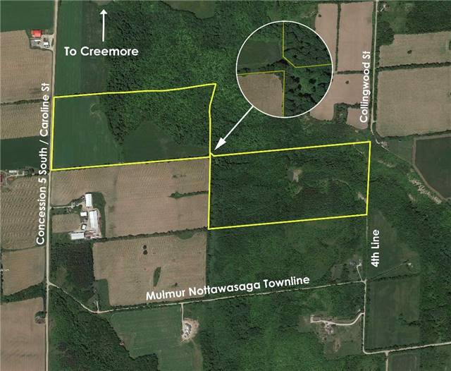 Vacant Land at 3767 5 Nottawasaga Conces Rd S, Clearview, Ontario. Image 2