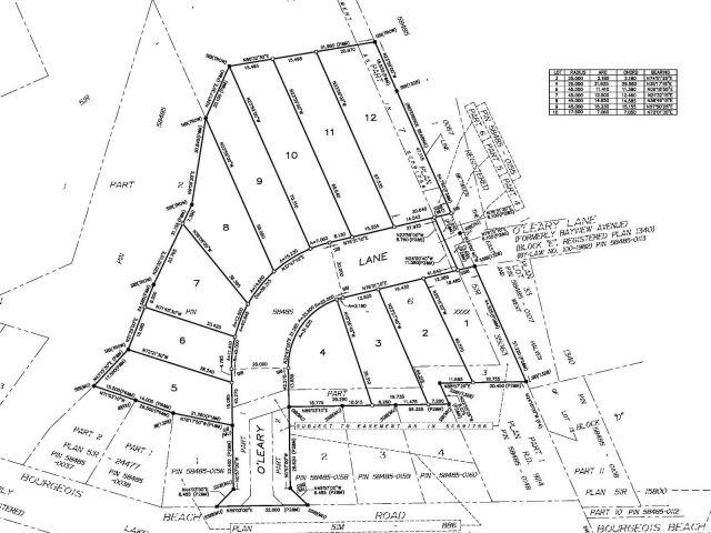 Vacant Land at 575 O'leary Lane, Unit Lot 3, Tay, Ontario. Image 3