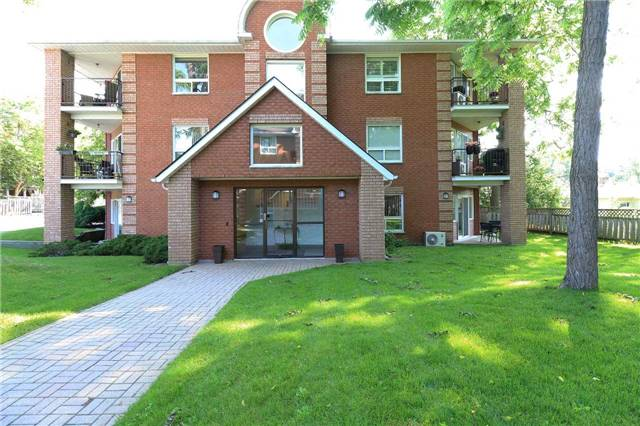 Condo Apartment at 166 Owen St, Unit 104, Barrie, Ontario. Image 1
