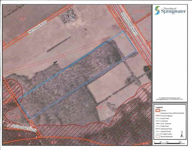 Vacant Land at 3147 Old Second South Rd, Springwater, Ontario. Image 8