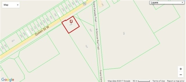 Vacant Land at 157-159 Queen St W, Springwater, Ontario. Image 1