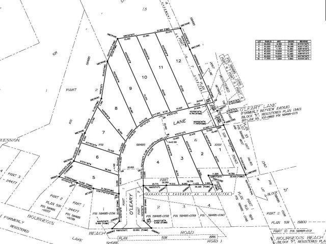 Vacant Land at Lt8-584 O'leary Lane, Tay, Ontario. Image 3