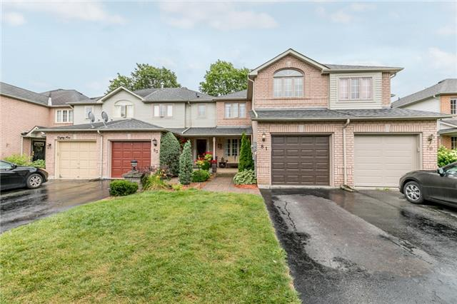 Townhouse at 81 Montserrand St, Barrie, Ontario. Image 1