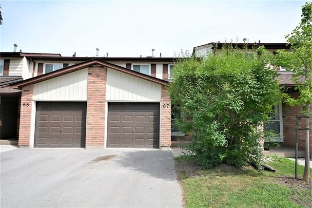 Condo Townhouse at 72 Adelaide St, Unit 67, Barrie, Ontario. Image 1