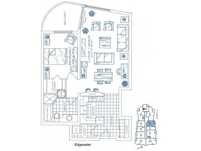 Condo Apartment at 2 Toronto St, Unit 501, Barrie, Ontario. Image 6