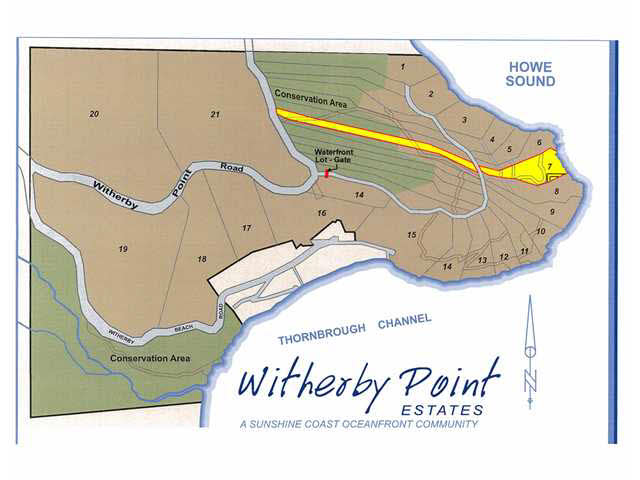 Vacant Land at LOT 7 WITHERBY POINT ROAD, Unit LOT 7, Sunshine Coast, British Columbia. Image 4