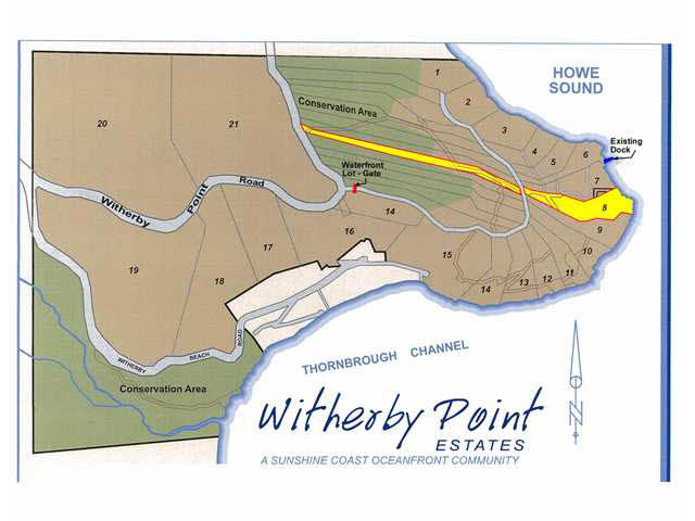 Vacant Land at LOT 8 WITHERBY POINT ROAD, Unit LOT 8, Sunshine Coast, British Columbia. Image 3