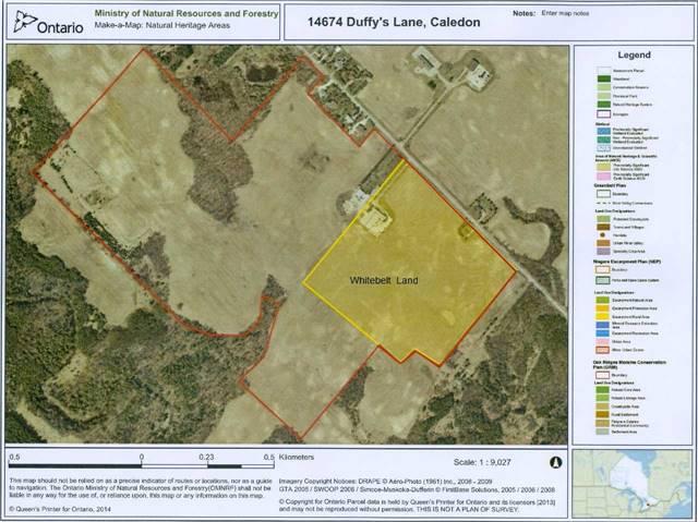 Vacant Land at 14674 Duffy's Lane, Caledon, Ontario. Image 1