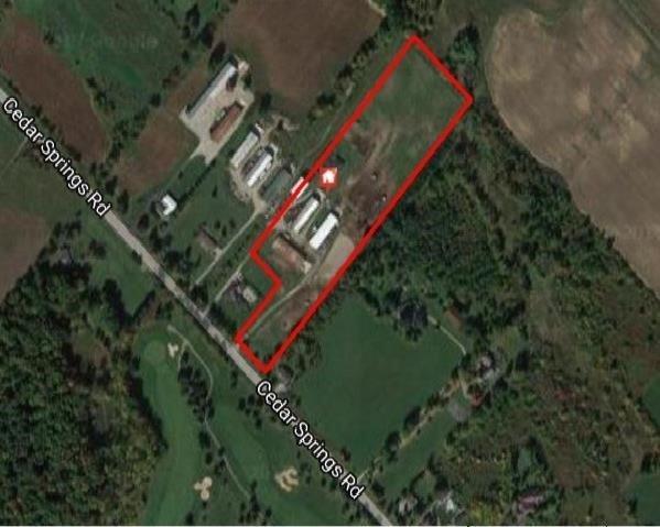 Farm at 4211 Cedar Springs Rd, Burlington, Ontario. Image 12
