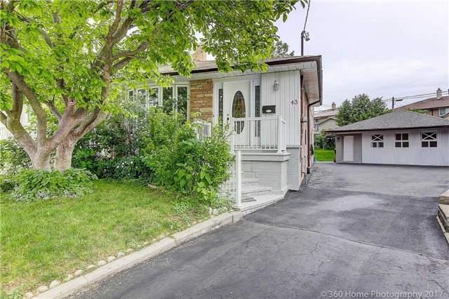 Semi-detached at 43 Turks Rd, Toronto, Ontario. Image 10