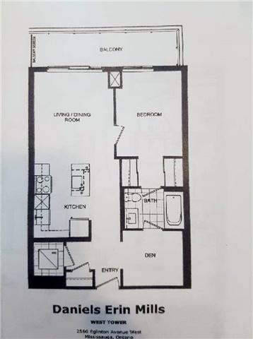 Condo Apartment at 2560 Eglinton Ave W, Unit 1006, Mississauga, Ontario. Image 10