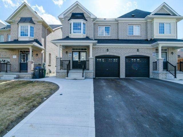 Semi-detached at 19 Gower Cres, Brampton, Ontario. Image 1