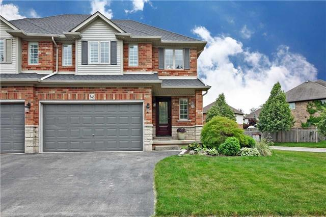 Semi-detached at 546 Sandcherry Dr, Burlington, Ontario. Image 1