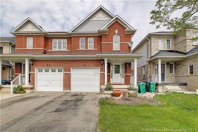 Semi-detached at 23 Mossgrove Cres, Brampton, Ontario. Image 1