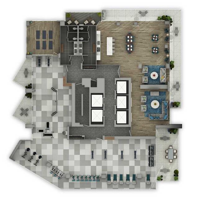 Condo Apartment at 10 Park Lawn Rd, Unit 4006, Toronto, Ontario. Image 4