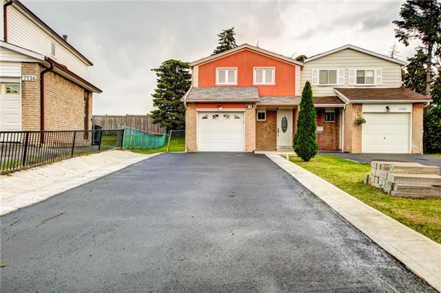 Semi-detached at 7740 Benavon Rd, Mississauga, Ontario. Image 1
