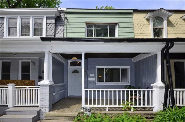 Townhouse at 52 Elm Grove Ave, Toronto, Ontario. Image 1