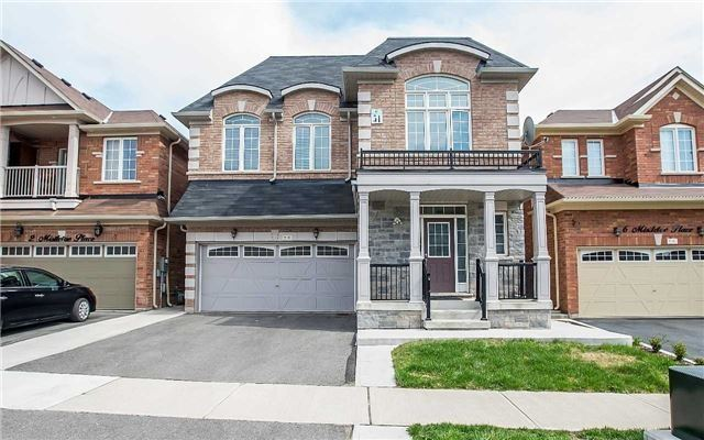 Detached at 4 Mistletoe Pl, Brampton, Ontario. Image 1