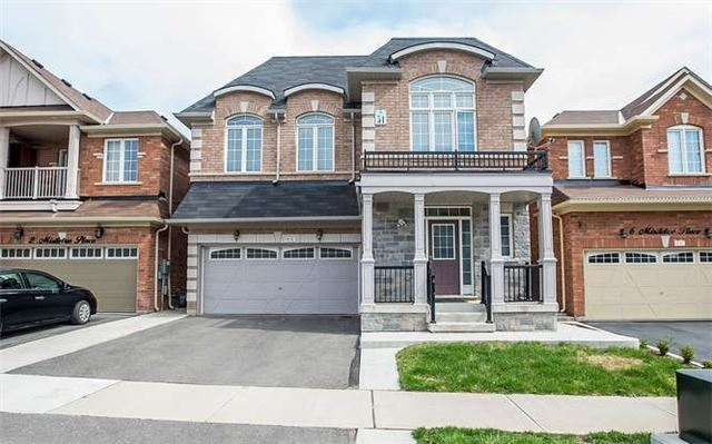 Detached at 4 Mistletoe Pl, Brampton, Ontario. Image 12