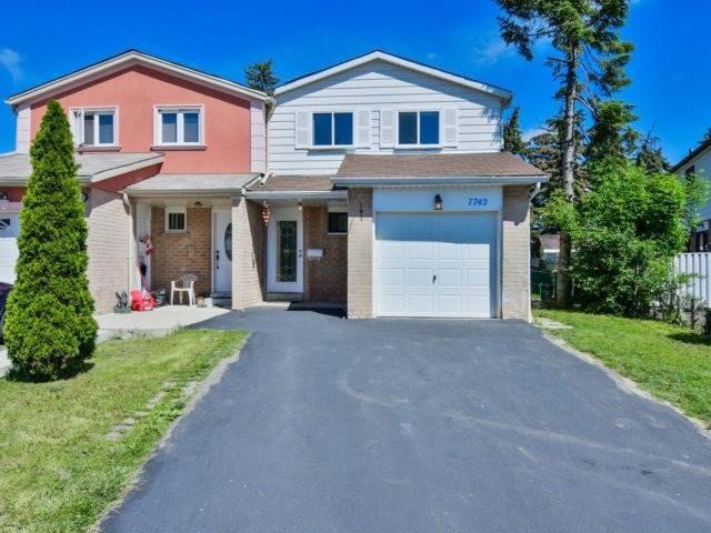 Semi-detached at 7742 Benavon Rd, Mississauga, Ontario. Image 1