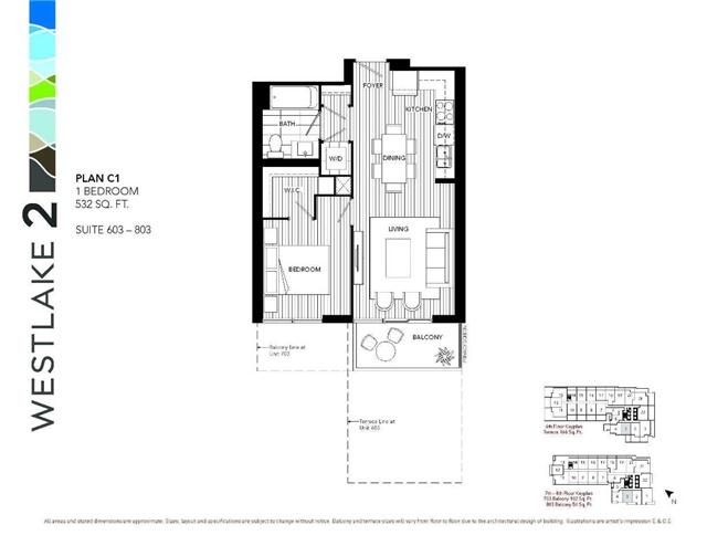 Condo Apartment at 2200 Lake Shore Blvd W, Unit 803, Toronto, Ontario. Image 2