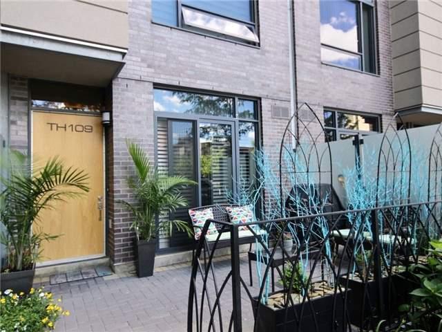 Condo Townhouse at 5 Valhalla Inn Rd, Unit 109, Toronto, Ontario. Image 1