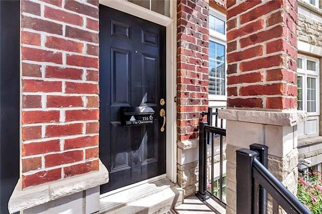 Condo Townhouse at 101 The Queensway Ave, Unit Th6, Toronto, Ontario. Image 12