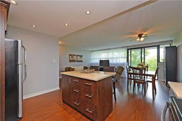 Condo Apartment at 188 Mill St S, Unit 406, Brampton, Ontario. Image 2